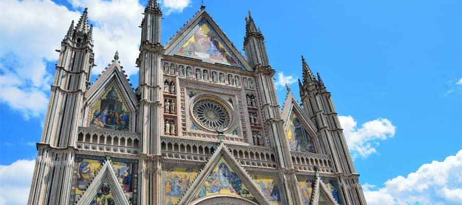 Catedral de Orvieto en tu crucero desde Roma
