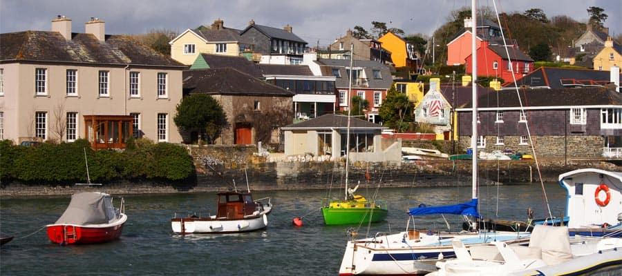 Puerto de Kinsale en tu crucero a Irlanda