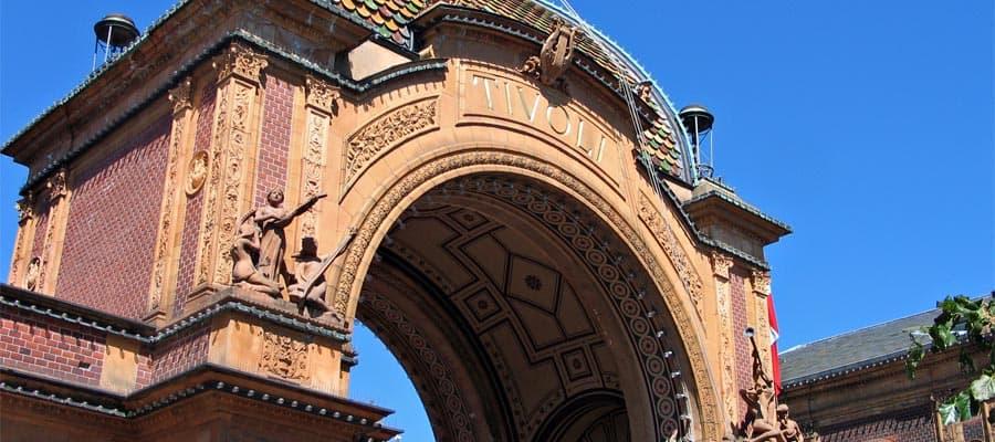 Tivoli Gardens en tu crucero por Europa