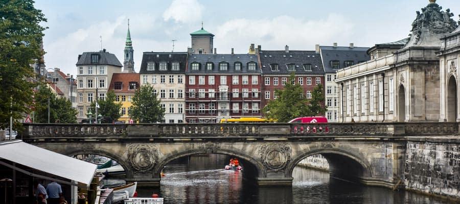 Canal Frederiksholms en tu crucero por Europa