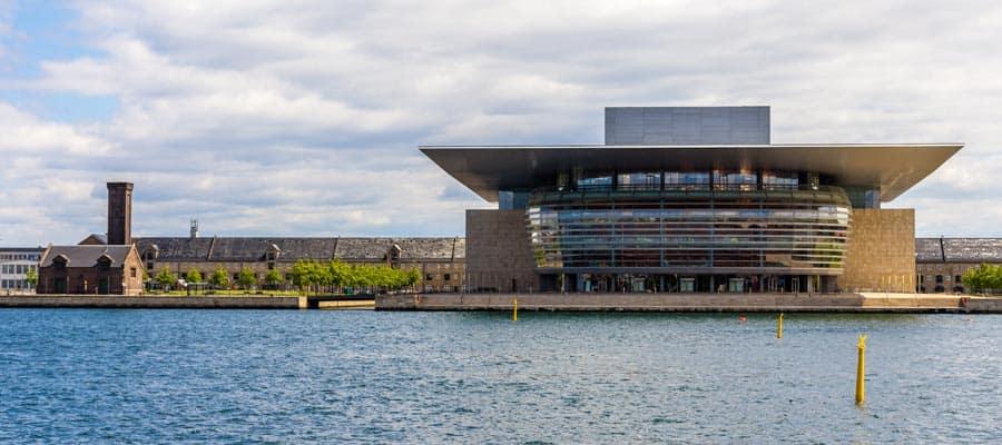 Teatro de ópera de Copenhague en tus vacaciones en Europa