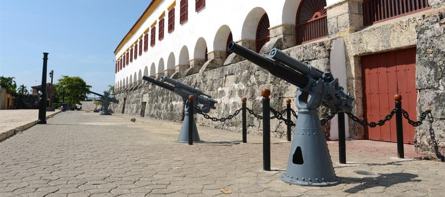 Cartagena en un crucero por América del Sur
