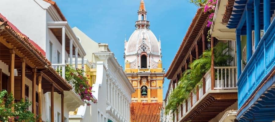 Catedral bellísima en tu crucero por América del Sur