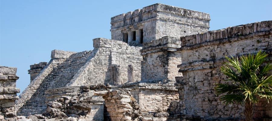 Ruinas mayas en Cozumel, México