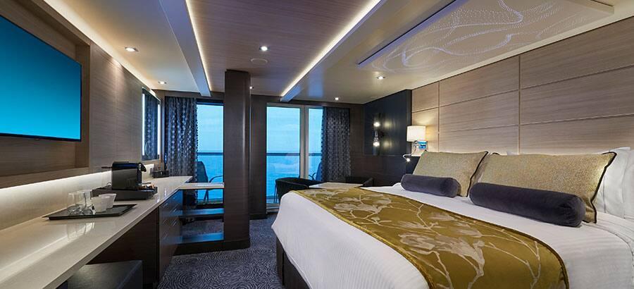 Suite Concierge villa con balcón