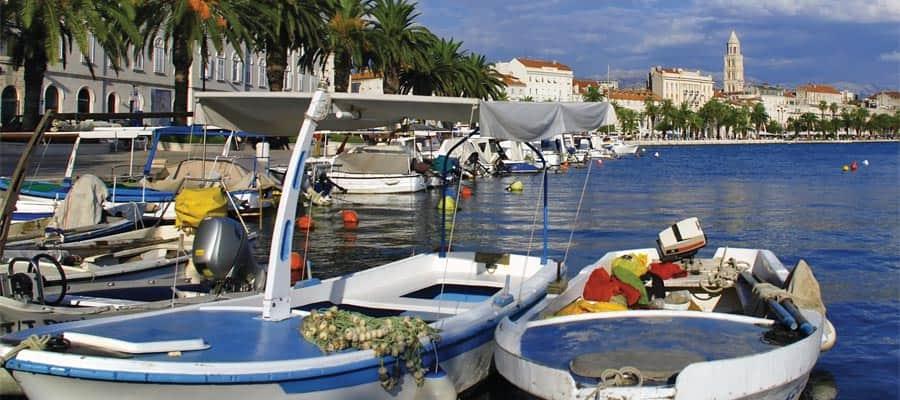 Puerto de Croacia