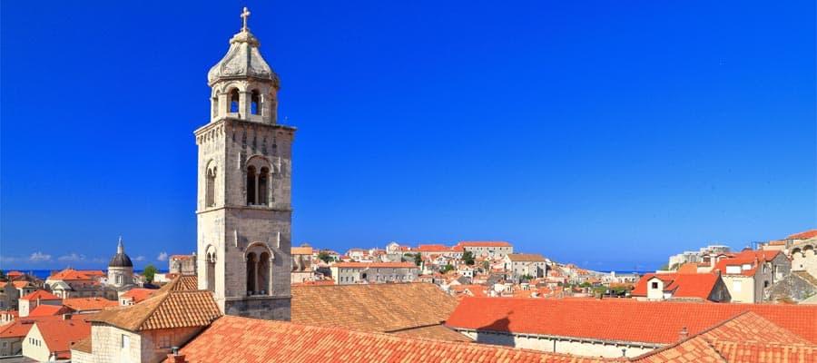 Dubrovnik, Croacia en tu crucero por Europa