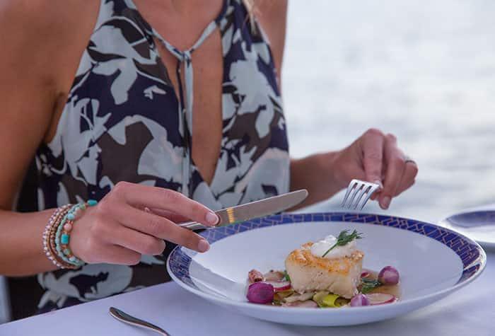 Gastronomía en Norwegian Cruise Line