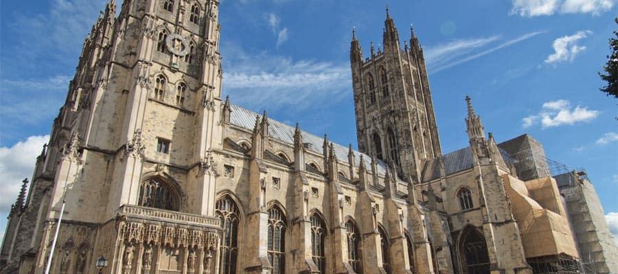 Viaja en crucero a Londres y visita la Catedral de Canterbury