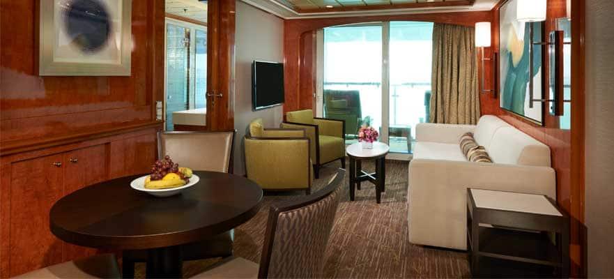 Suite familiar de lujo con balcón, 2 habitaciones