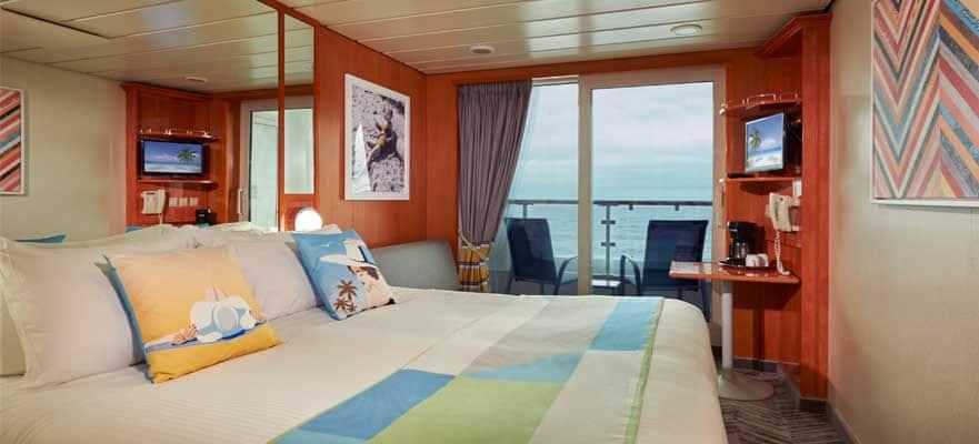 Camarote con balcón Sail Away