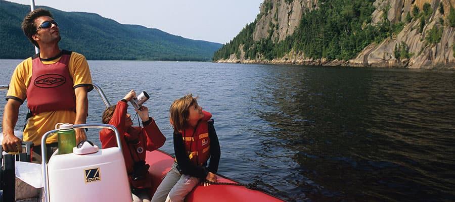 Visita el Parque Nacional de Saguenay cuando viajes en crucero a Quebec