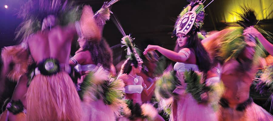 Vacaciones en crucero por Hawái: el mejor Luau