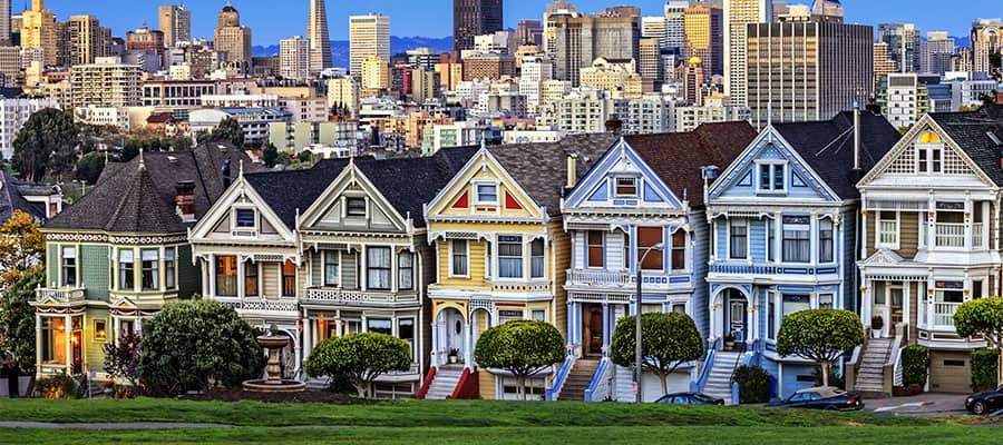 Visita las Damas Pintadas en tu crucero desde San Francisco