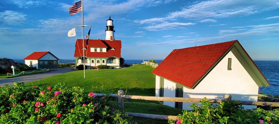 Ciudades pintorescas en tu crucero por Canadá y Nueva Inglaterra