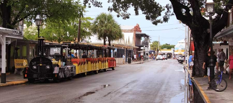 Viaja en tranvía cuando hagas tu crucero a Cayo Hueso