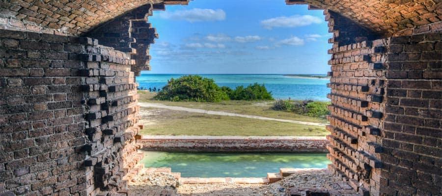 Vistas increíbles de Cayo Hueso en tu crucero por el Caribe