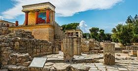 Cnosos y ciudad de Heraclión