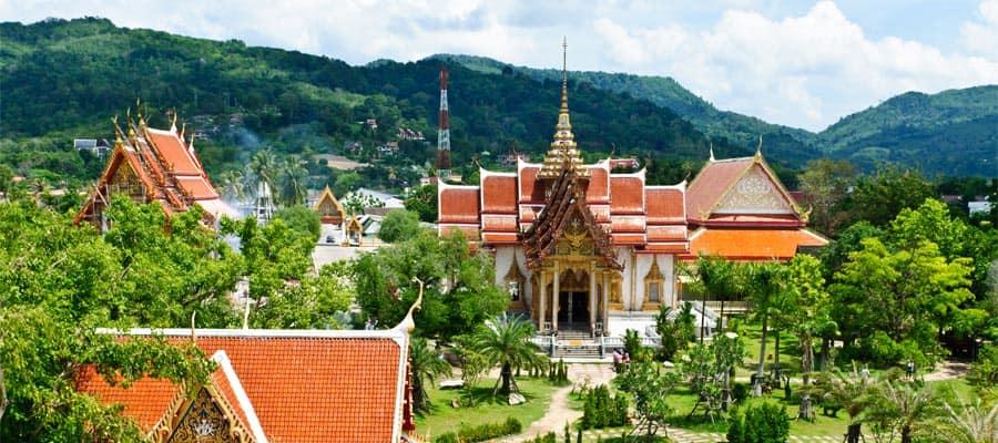 Wat Chalong en tu crucero a Phuket