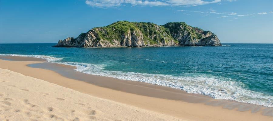 Arenas blancas y olas cálidas en tu crucero por América del Sur