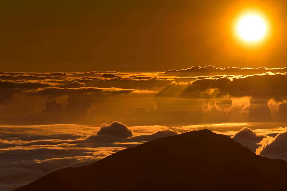 Sunrise at Haleakala – Maui