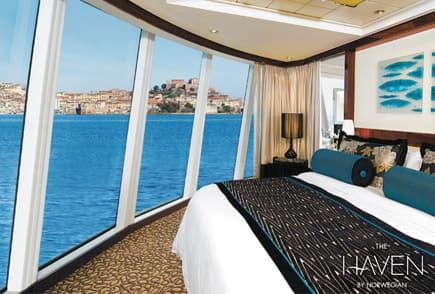 Vive The Haven en Norwegian Cruise Line.