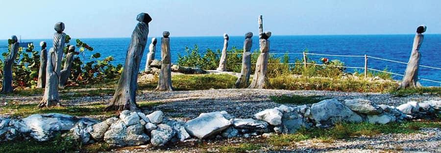 Sitios de historia de los afrodescendientes en un crucero en las Bahamas