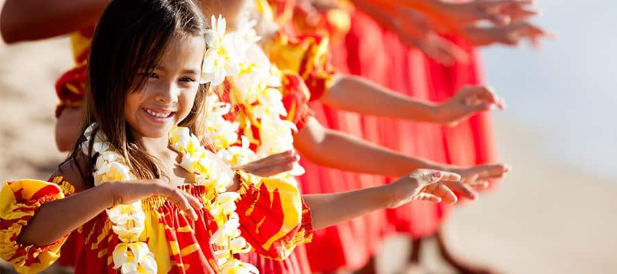 Baila el hula en tu crucero en Hawái