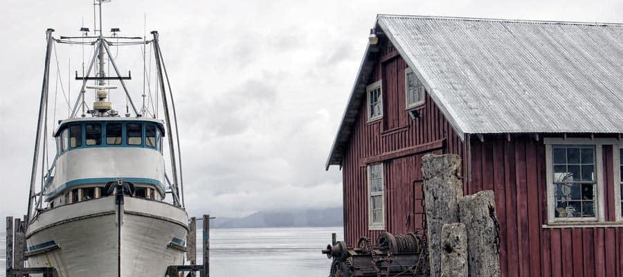 Tiendas locales en Icy Strait Point