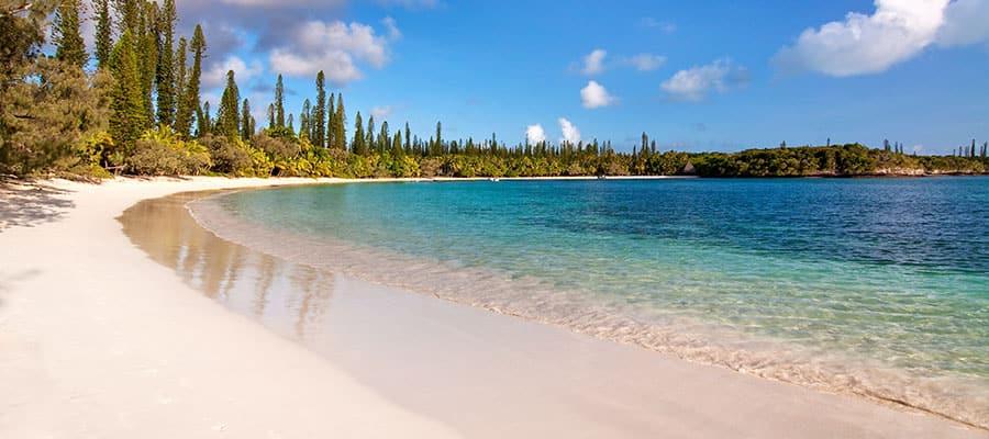 Playa tropical en la Isla de los Pinos