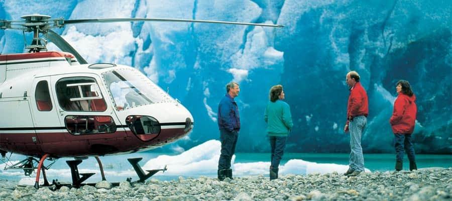 Acércate a la naturaleza en cruceros en Alaska