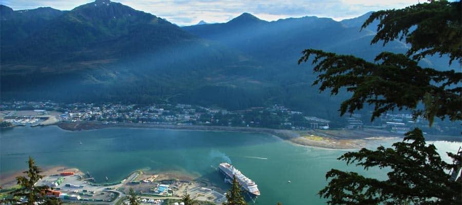 Grandes paisajes de Alaska en un crucero por Alaska