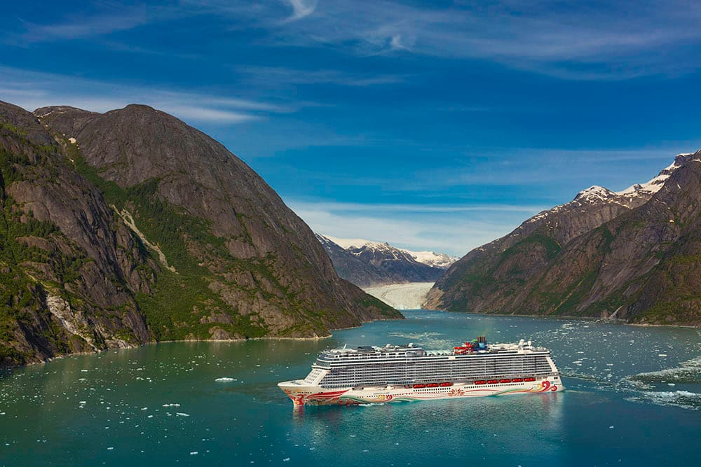 Norwegian Joy Cruises to Alaska with Sister Ship Norwegian Bliss