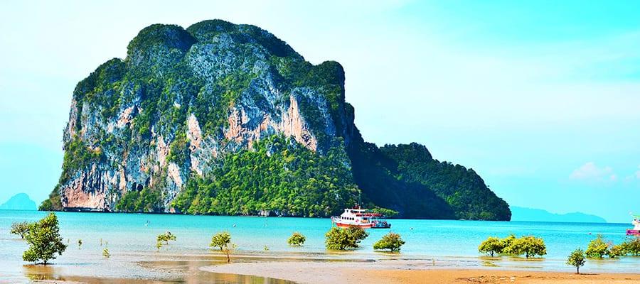 Playas hermosas en cruceros a Ko Samui