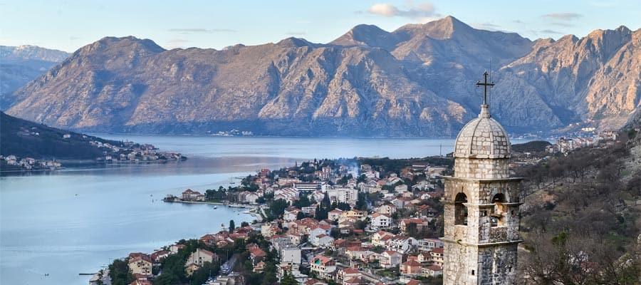 Visita Kotor en un crucero por Europa
