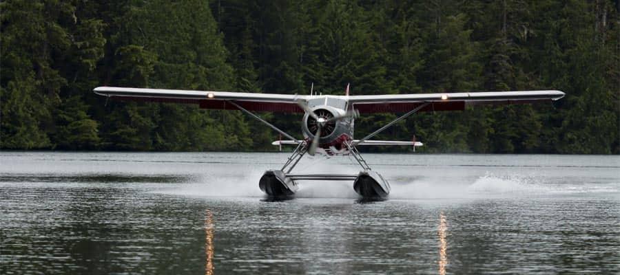 Conoce Alaska en un hidroavión en tus vacaciones en crucero