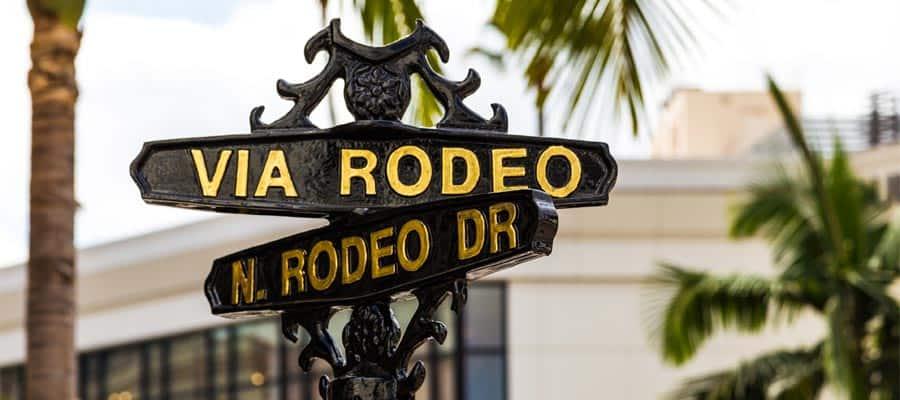 Rodeo Drive en tu crucero a Los Ángeles