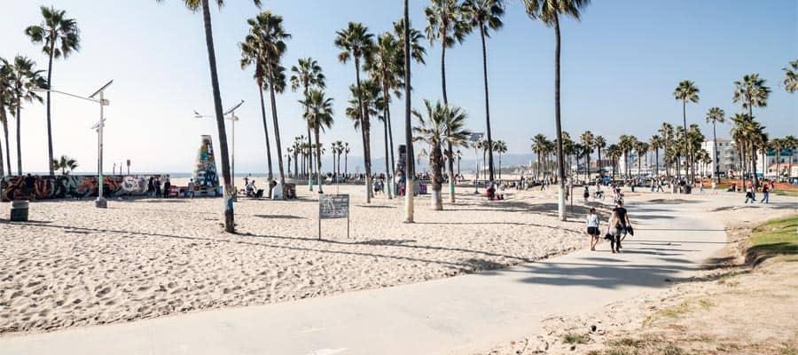 Venice Beach en un crucero a Los Ángeles