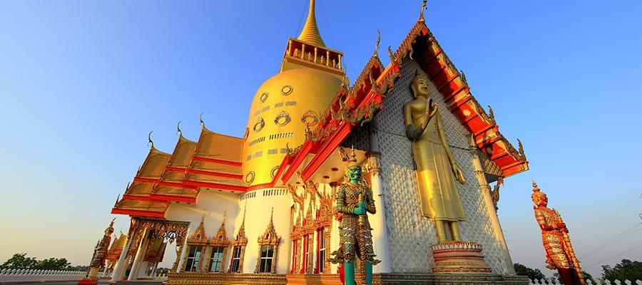 Wat Prong Arkard en cruceros a Laem Chabang