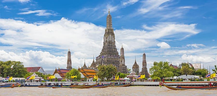 Templo del Amanecer en tu crucero a Laem Chabang