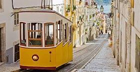 Recorre el corazón de Lisboa a pie y en el funicular Gloria