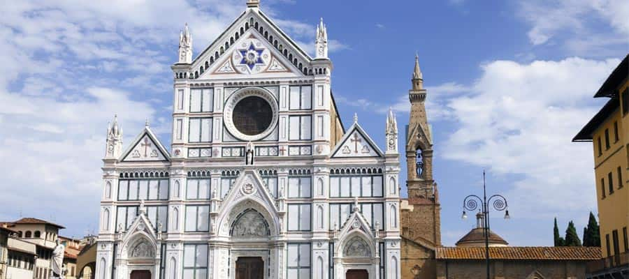 La Basílica di Santa Croce en tu crucero a Florencia