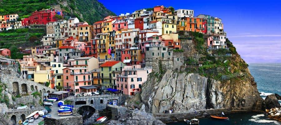 Mira todos los colores de Italia en tu crucero por Europa