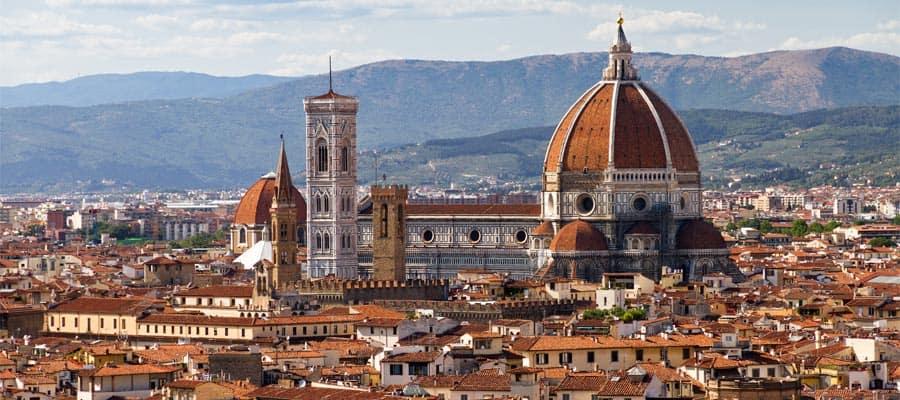 Admira el paisaje urbano de Florencia en tus vacaciones por Europa