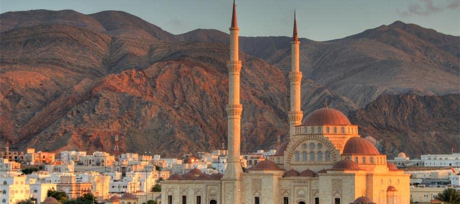 Crucero a la Gran Mezquita en Mascate