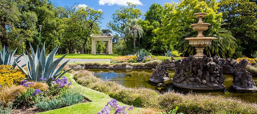 Jardín Fitzroy en cruceros a Melbourne