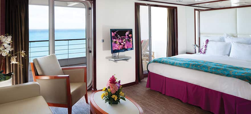 Penthouse con balcón grande