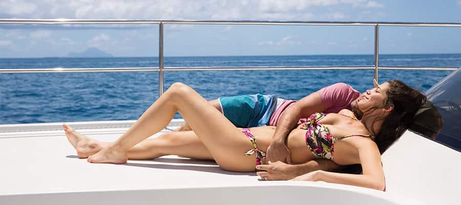 Haz un crucero a las Bermudas y relájate en tu catamarán