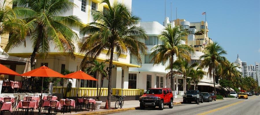 Descubre las obras representativas de la arquitectura Art Decó en tu crucero por Miami