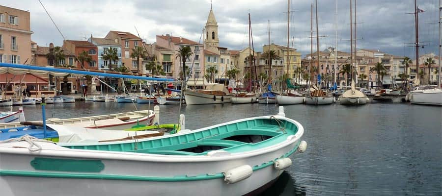 Sanary-sur-Mer en un crucero a Provenza